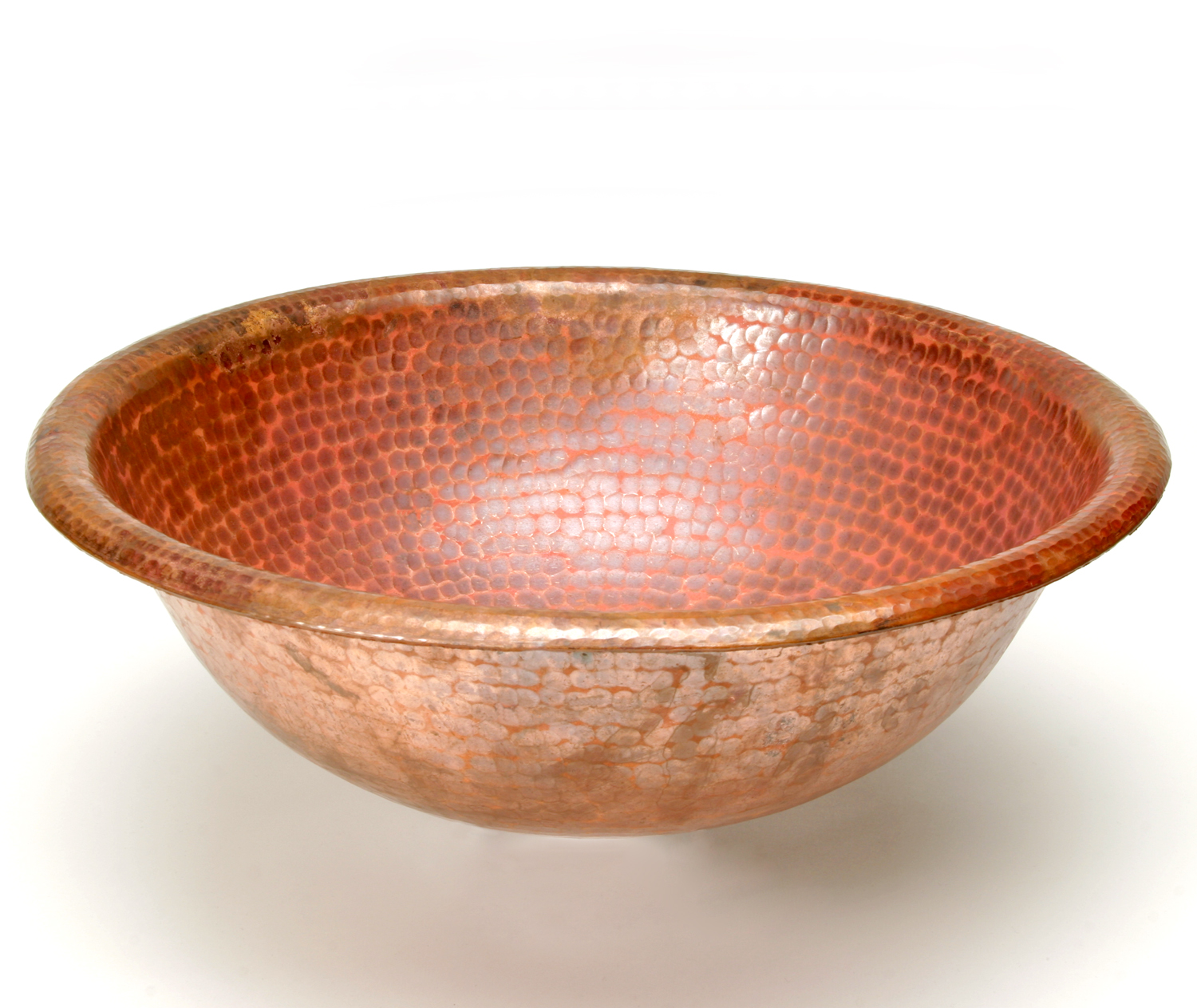 Hammered Round Copper Sink