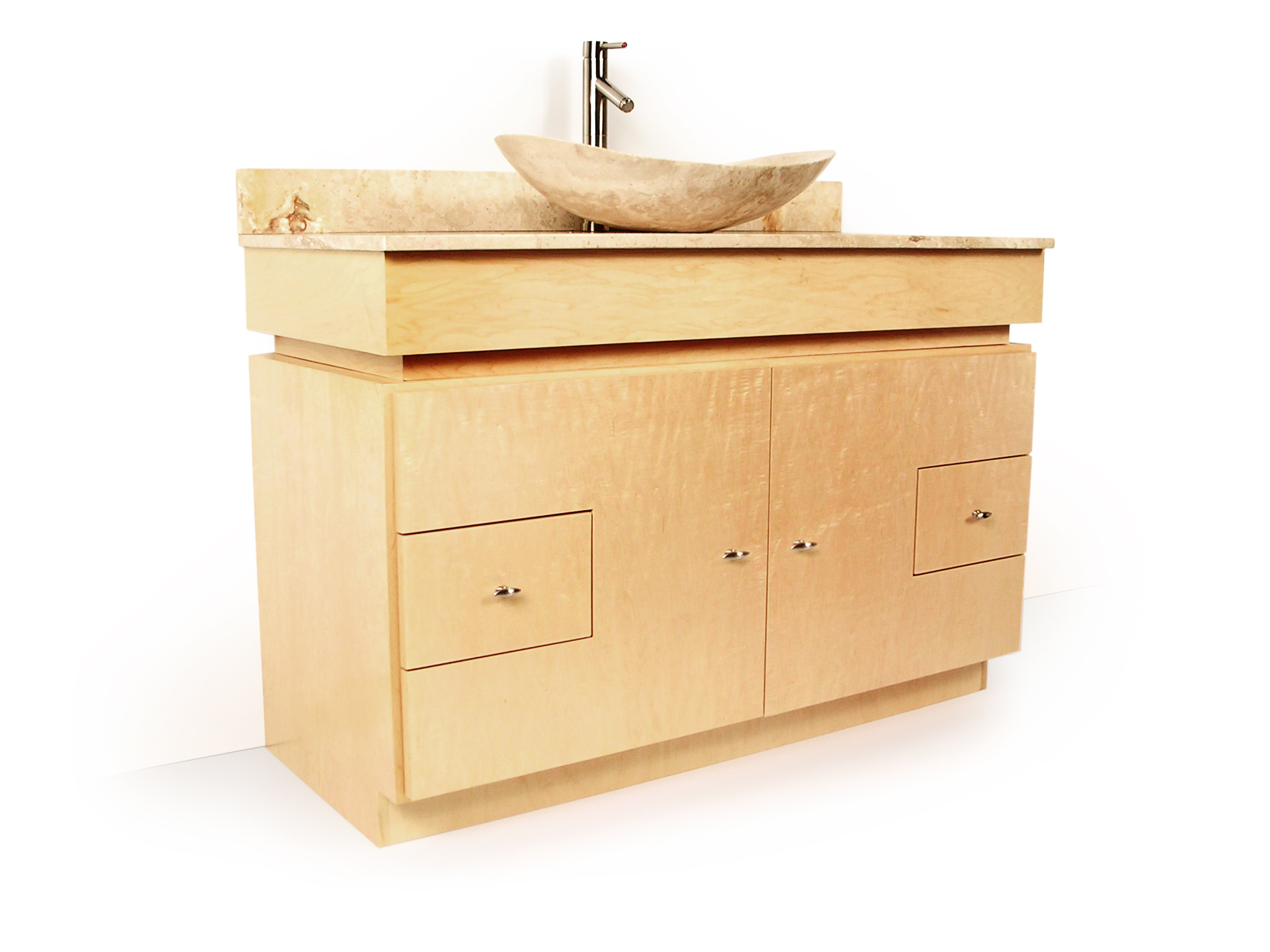 Mdv modular vanity stretcher for Prefabricated bathroom cabinets