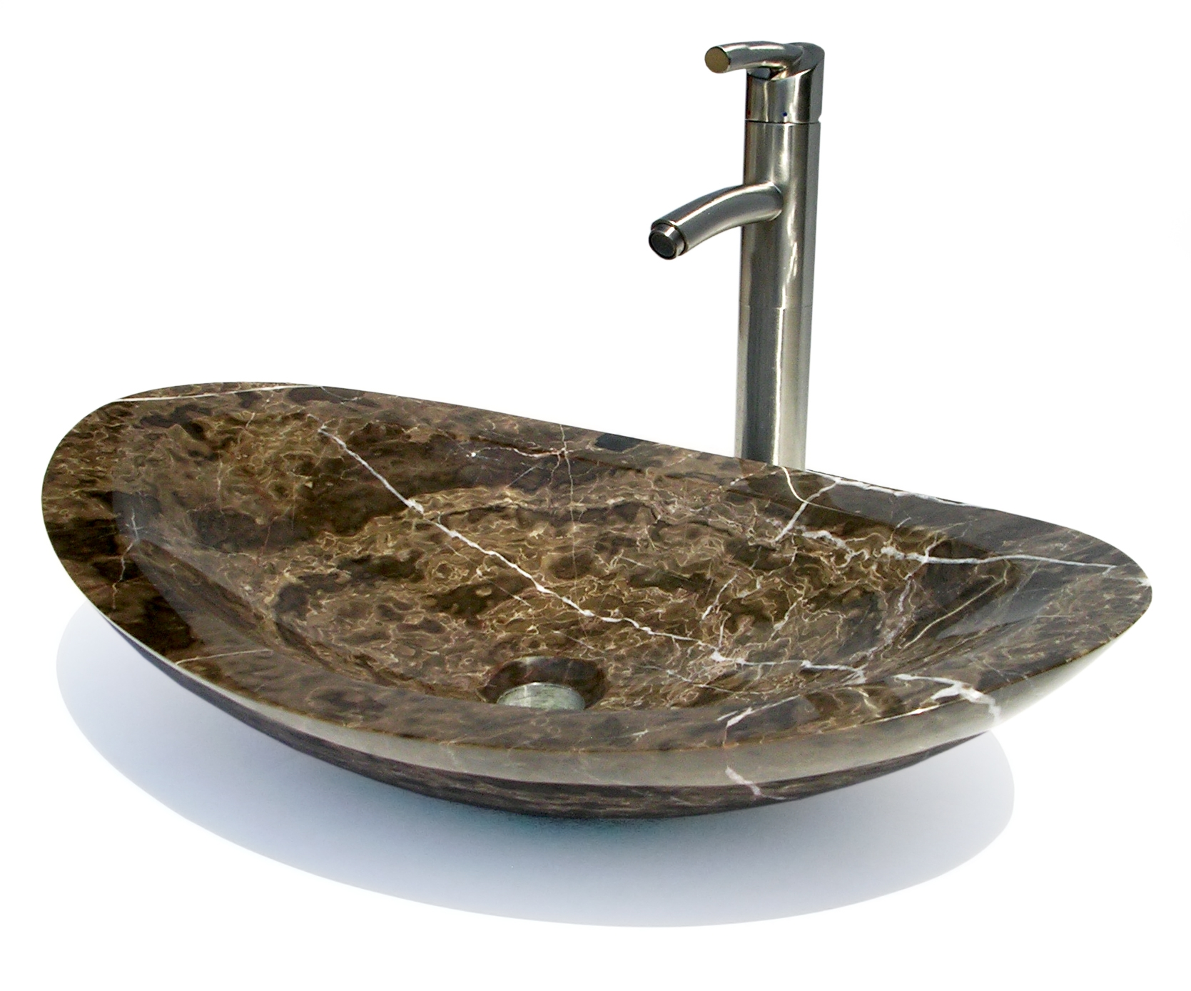 Oval Natural Stone Sink