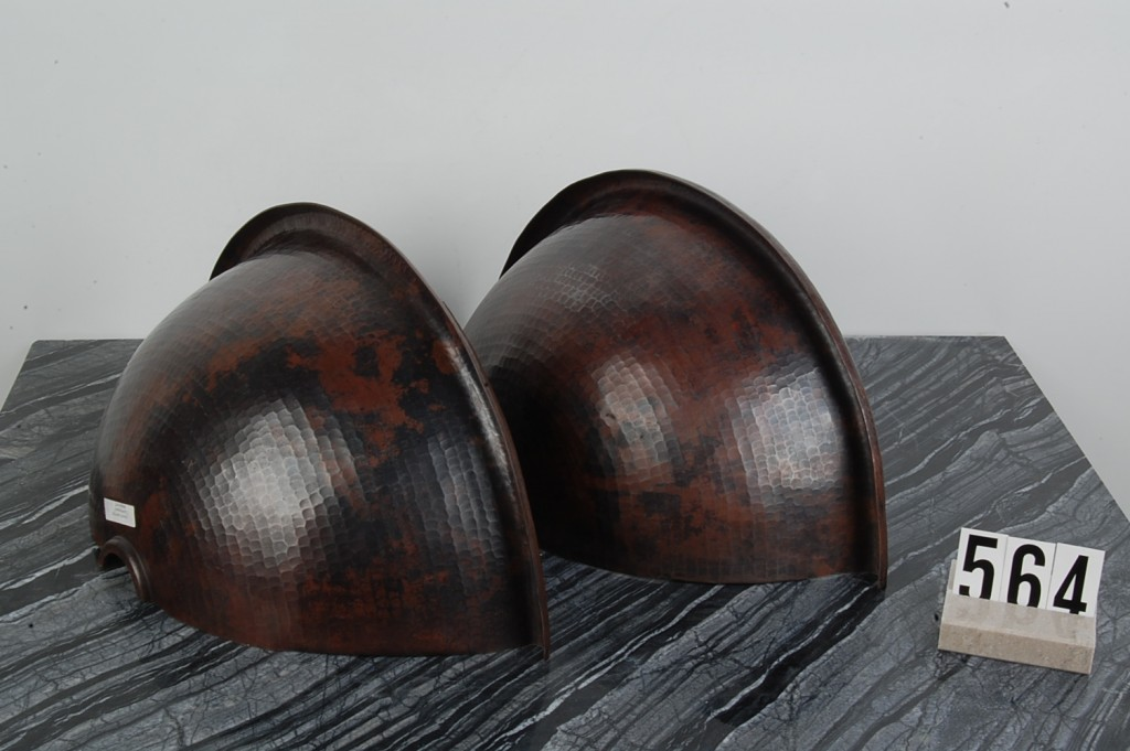 Copper Sconces