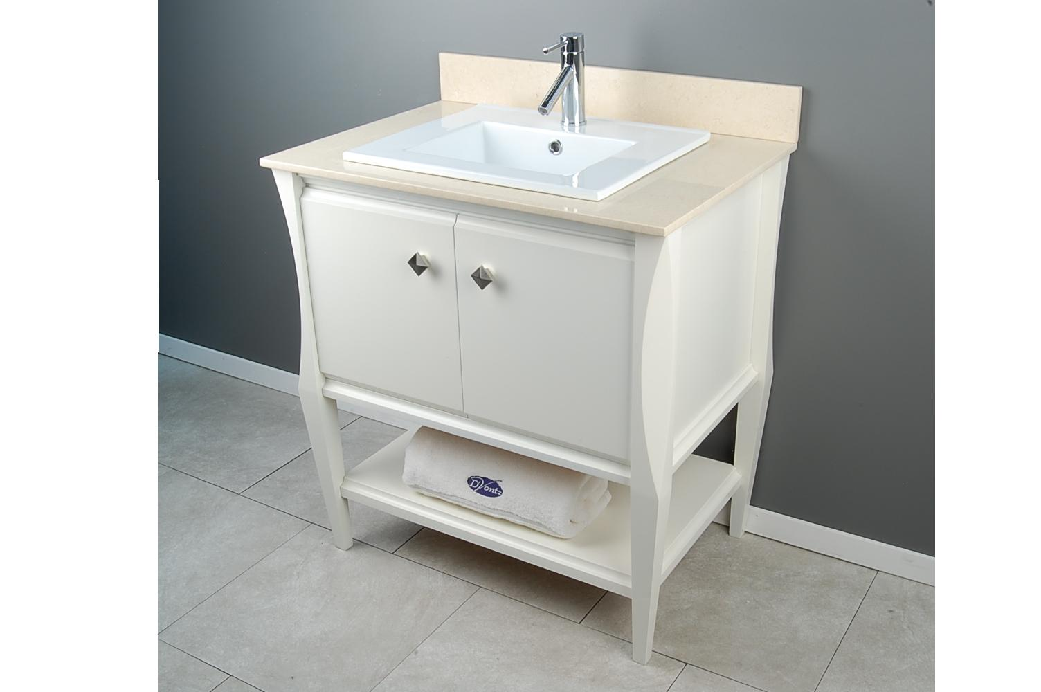 GA CONSOLE SH30 WH v2  D Vontz Finely Crafted Natural Stone and Copper Bath and Kitchen  . D Vontz Natural Marble Vessel Single Sink Bathroom Vanity Top. Home Design Ideas