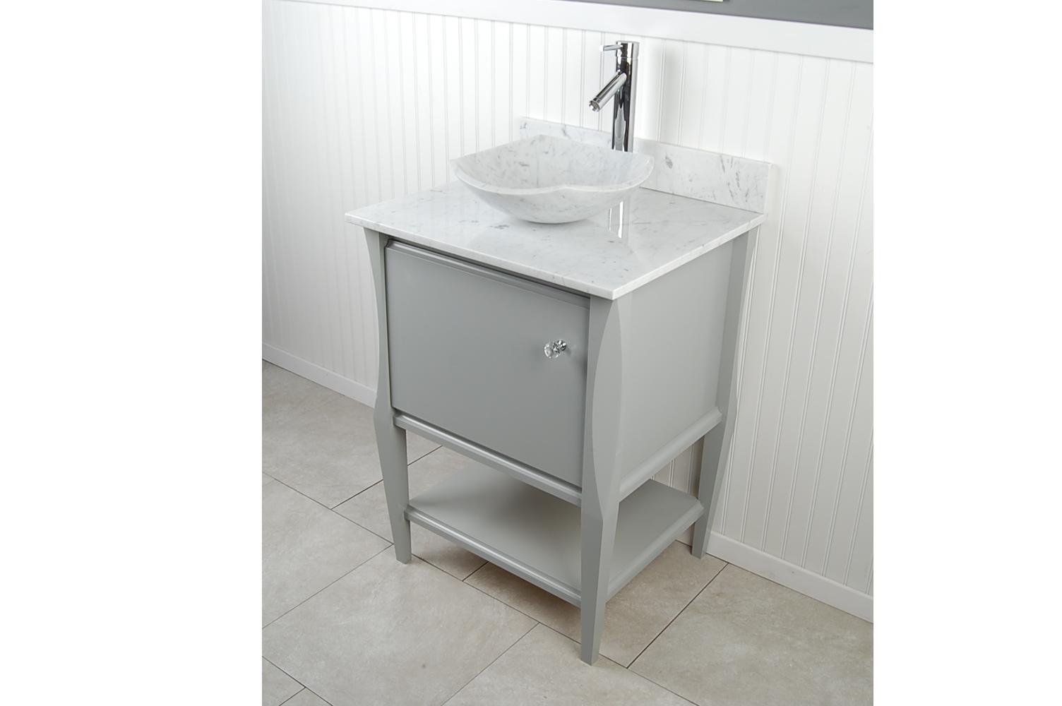 d vontz natural marble vessel single sink bathroom vanity top. wm fong sh24 gr v2 d vontz natural marble vessel single sink bathroom vanity top t