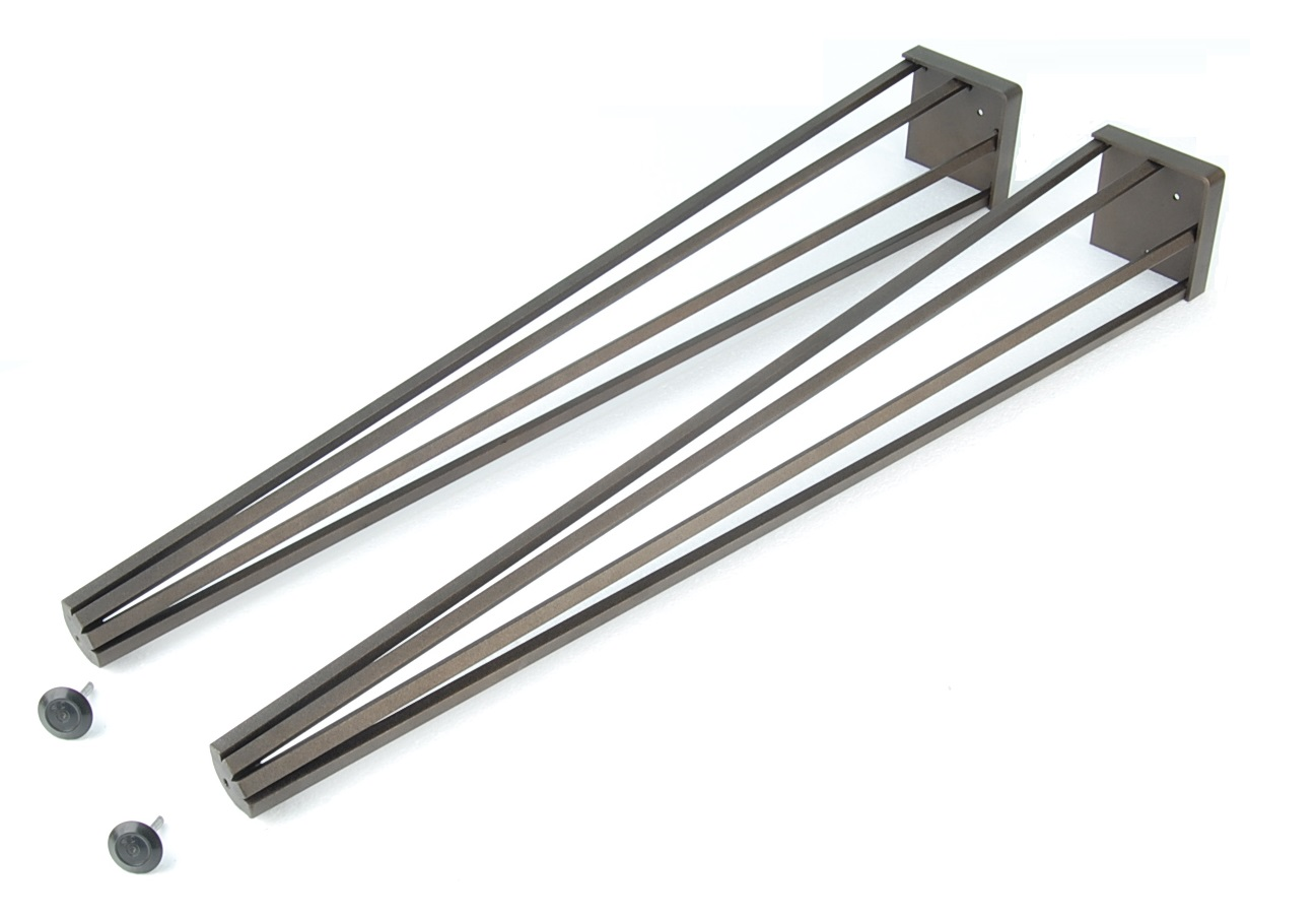 Sierra wrought iron legs for Rod iron legs