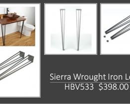 Web site sierra wrought legs